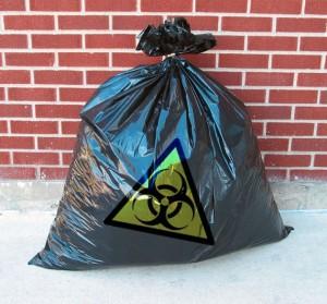 Toxic-trashbag