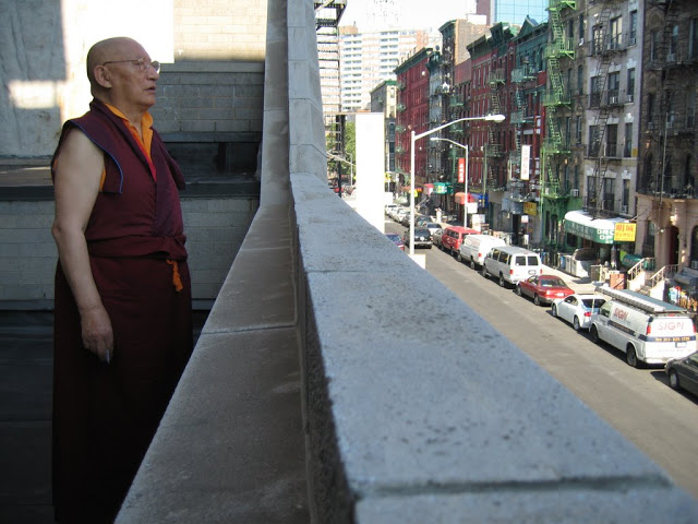 Khenchen Rinpoche in NYC