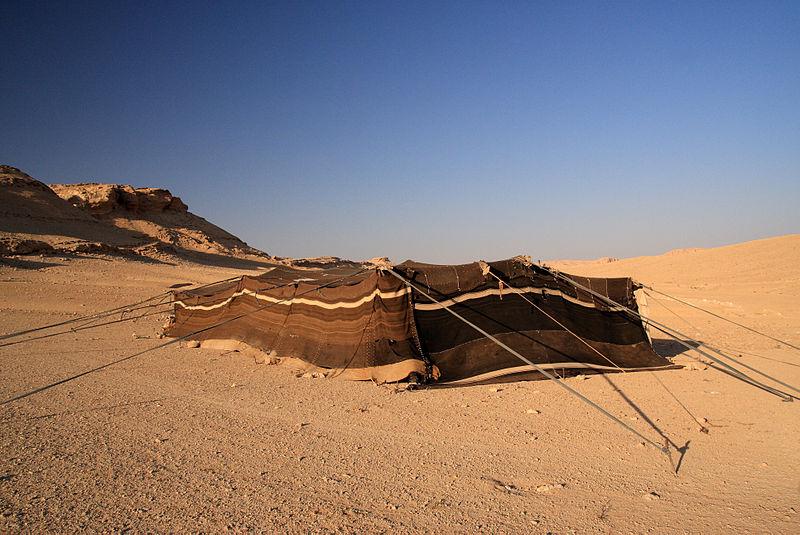 800px-Bedouin_Tent,_Syrian_Desert_(5079932783)