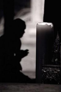 Monk-praying
